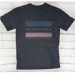 Quicksilver Grey Graphic Tee